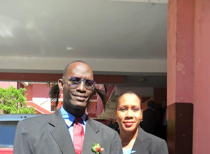 Me Mackendy, Laureat  de la 16eme promotion 2010-2014,baptisee Christian Caze